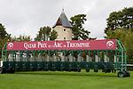 October 06, 2019, Paris (France) - Starting Gate for the Prix de l'Ar de Triomphe on October 6 in ParisLongchamp. [Copyright (c) Sandra Scherning/Eclipse Sportswire)]