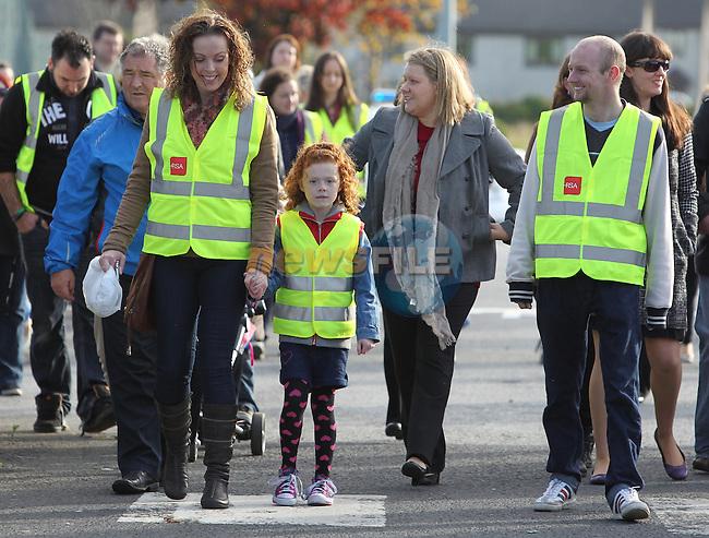 Walk for Jill Meagher.Picture: Fran Caffrey/www.newsfile.ie.