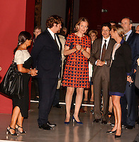Queen Mathilde of Belgium visits the Louvre-Lens museum - France
