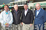Pictured at Killarney Races on Monday, from left: Johnny Culloty (Killarney), Jimmy Bambury (Dingle), Bernard O'Sullivan (Dingle) and Sean O'Sullivan (Dingle)..