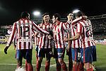 MADRID, Spain (14/02/10).-Liga BBVA de futbol. Partido Atletico de Madrid-FC Barcelona...©Raul Perez ..