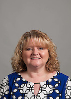 Christy James of the School of Education, is photographed for Employee Headshot day. (Photo by Kaitlyn Becker Johnson)