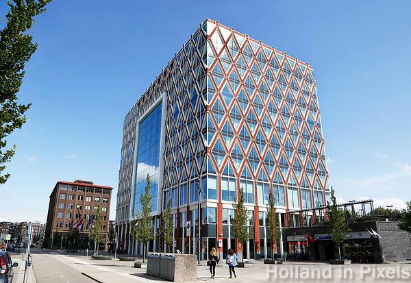 Nederland Gouda  2017.  Het Huis van de Stad. Het nieuwe stadhuis van Gouda.  Foto Berlinda van Dam / Hollandse Hoogte