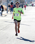 Liam Wall of Manasquan won the first annual Manasquan Turkey Run with a time of 26:44 on Sat., Nov. 22, 2014. Wall was more than a minute faster than the 2nd place finisher.  (Andrew Mills Digital Media)