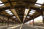 Central Railroad of New Jersey Terminal in Liberty State Park reopens nearly four years after it was damaged extensively by Hurricane Sandy.