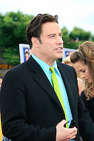 John Travolta wears a hair net or something strange at the premiere of 'Hairspray' at the Mann Village Theater in Westwood, Los Angeles, California on July 10, 2007. Photopro.