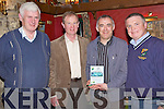 Well Done - Ballydonoghue U16 trainer John O'Carroll, 3rd left, receiving a plaque to commemorate his team's victory in The North Kerry Championship at their Awards night held in The Thatch Bar Lisselton on Saturday night. From l/r North Kerry GAA Secretary Bill Fitzgerald, Chairman Ballydonoghue Bord Na N'O?g Pat O'Sullivan, John O'Carroll and Ballydonoghue Bord Na N'O?g Secretary Martin Sheehy.......................................................................................................................................................................................................................................................................................................... ............