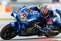 2nd November 2019; Sepang Circuit, Sepang Malaysia; MotoGP Malaysia, Qualifying Day;  The number 42 Team Suzuki ECSTAR rider Alex Rins during practice 3 - Editorial Use