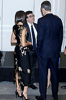 MADRID, SPAIN-November 28: King Felipe and Queen Letizia of Spain attend the 'Francisco Cerecedo' journalism awards 2019 at the Palace hotel in Madrid, Spain on. November 28, 2019.  ***NO SPAIN***<br /> CAP/MPI/RJO<br /> ©RJO/MPI/Capital Pictures