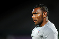 Semesa Rokoduguni of Bath Rugby looks on during the pre-match warm-up. European Rugby Challenge Cup match, between Pau (Section Paloise) and Bath Rugby on October 15, 2016 at the Stade du Hameau in Pau, France. Photo by: Patrick Khachfe / Onside Images