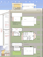 Bruce Prescott and Isaiah Stackhouse of Santos Prescott & Asssociates submitted an ADU with modular construction for FSDA's ADU Competition 2004. Board 2.