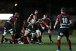 Richie Rees<br /> RaboDirect Pro12<br /> Newport Gwent Dragons v Munster<br /> Rodney Parade - Newport<br /> 29.11.13<br /> ©Steve Pope-SPORTINGWALES
