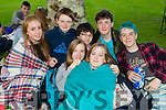 At the Town Park Open Air Cinema on Friday<br /> from front left to right. Olivia Moriarty, Aoife King and  Julie O Grady. Back left to right Jordan Tearle, Gerard Tansley , Patrick O Donnell and Hugo Wells.