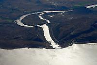 4415 / Wasserkraft: AFRIKA, SUEDAFRIKA, 12.01.2007:Staumauer des Gariepdam, Wasserkraft am Orange River, Stromerzeugung, Wasserversorgung, Orange River Projekt, Oranje, Gariep