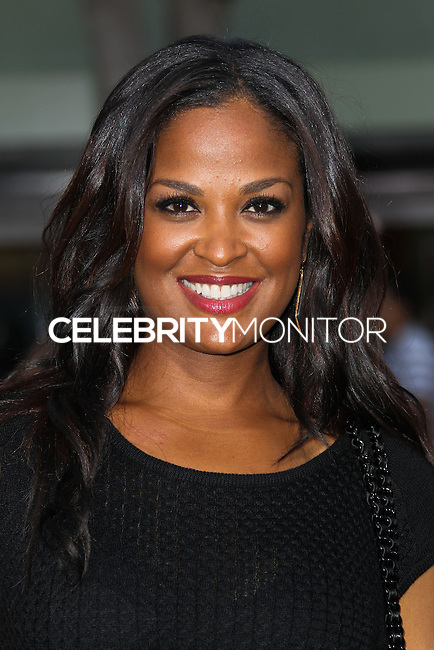 """WESTWOOD, LOS ANGELES, CA, USA - APRIL 07: Laila Ali at the Los Angeles Premiere Of Summit Entertainment's """"Draft Day"""" held at the Regency Bruin Theatre on April 7, 2014 in Westwood, Los Angeles, California, United States. (Photo by Xavier Collin/Celebrity Monitor)"""
