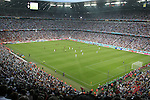 05 July 2006: A wide shot of the stadium during the start of the game. France defeated Portugal 1-0 at the Allianz Arena in Munich, Germany in match 62, the second semifinal game, in the 2006 FIFA World Cup.