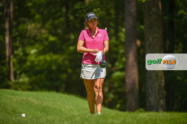 Emma Talley (USA) loks over her tee shot on 2 during round 4 of the U.S. Women's Open Championship, Shoal Creek Country Club, at Birmingham, Alabama, USA. 6/3/2018.<br /> Picture: Golffile | Ken Murray<br /> <br /> All photo usage must carry mandatory copyright credit (© Golffile | Ken Murray)