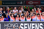 HSBC Hong Kong Rugby Sevens 2018 on 06 April 2018, in Hong Kong. Photo by Marcio Rodrigo Machado / Power Sport Images