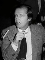 Jack Nicholson 1979<br /> Photo By John Barrett/PHOTOlink