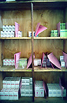 The pharmacy of the HIV treatment centre of Butera, district of Burera, Rwanda