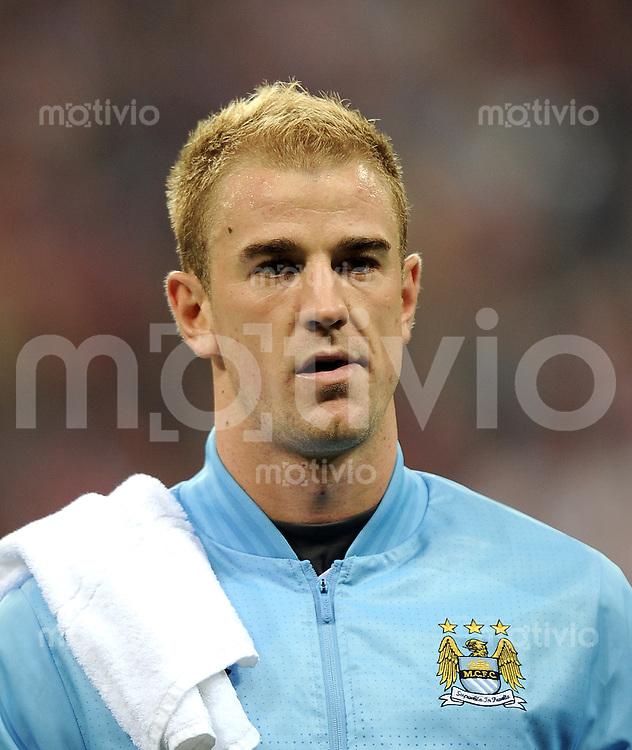 FUSSBALL   CHAMPIONS LEAGUE   SAISON 2011/2012     27.09.2011 FC Bayern Muenchen - Manchester City FC Joe Hart (Manchester City)