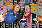 TEA BREAK: Kathleen Collins and Brenda Barry, members of the Abbeyfeale Chernoble Fund who are organising a Coffee Morning to send children on a holiday.