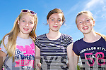 Caoimhe Evans, Ella teahan and Maeve Rochford soaking up the sun at the Ballyfinnane funday on Sunday