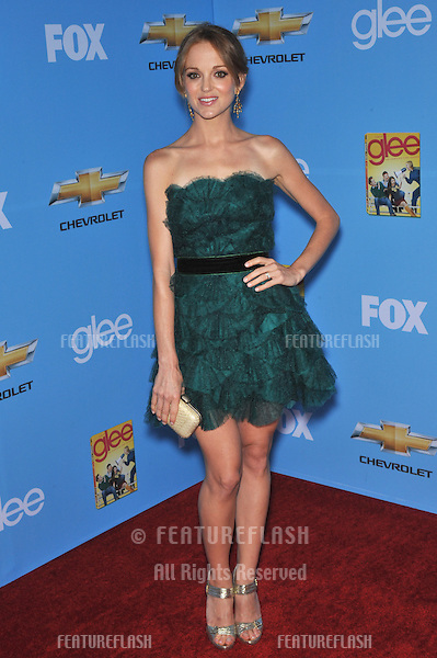 """Glee"" star Jayma Mays at the season two premiere screening & party for ""Glee"" at Paramount Studios, Hollywood..September 7, 2010  Los Angeles, CA.Picture: Paul Smith / Featureflash"