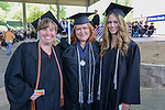 Nevada State College graduates with Bachelor's degrees are, from left, Sandra Montgomery from Fallon, Lisa duPont Moore from Minden and Jenny Hemsath from Gardnerville.