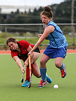 Canterbury v Northland. Action during the U-15 Premier Girls Hockey Nationals. North Harbour Hockey, Auckland, New Zealand. Monday 4 October 2017. Photo:Simon Watts / www.bwmedia.co.nz