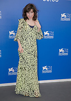Sally Hawkins attends the photocall of 'The Shape of Water' the 74th Venice Film Festival at Palazzo del Casino in Venice, Italy, on 31 August 2017. Photo: Hubert Boesl <br /> <br /> <br /> - NO&nbsp;WIRE&nbsp;SERVICE&nbsp;- Photo: Hubert Boesl/dpa /MediaPunch ***FOR USA ONLY***