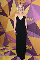 BEVERLY HILLS, CA - JANUARY 7: Emilia Clarke at the HBO Golden Globes After Party at the Beverly Hilton in Beverly Hills, California on January 7, 2018. <br /> CAP/MPI/FS<br /> &copy;FS/MPI/Capital Pictures