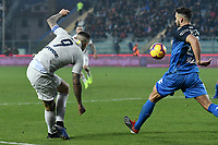 Mauro Icardi of Internazionale performs a rabona during the Serie A 2018/2019 football match between Empoli and Internazionale at stadio Castellani, Empoli, December, 29, 2018 <br /> Foto Andrea Staccioli / Insidefoto