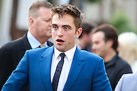 WESTWOOD, LOS ANGELES, CA, USA - JUNE 12: Robert Pattinson at the Los Angeles Premiere Of A24's 'The Rover' held at Regency Bruin Theatre on June 12, 2014 in Westwood, Los Angeles, California, United States. (Photo by Xavier Collin/Celebrity Monitor)