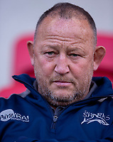 Sale Sharks' Head Coach Steve Diamond<br /> <br /> Photographer Bob Bradford/CameraSport<br /> <br /> Gallagher Premiership - Bristol Bears v Sale Sharks - Friday 3rd May 2019 - Ashton Gate - Bristol<br /> <br /> World Copyright © 2019 CameraSport. All rights reserved. 43 Linden Ave. Countesthorpe. Leicester. England. LE8 5PG - Tel: +44 (0) 116 277 4147 - admin@camerasport.com - www.camerasport.com