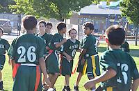 The Harker School - LS - Lower School - Harker LS Football Team Game photos versus Pinewood,  from 2011-09-27...photos by Maria Gong, parent