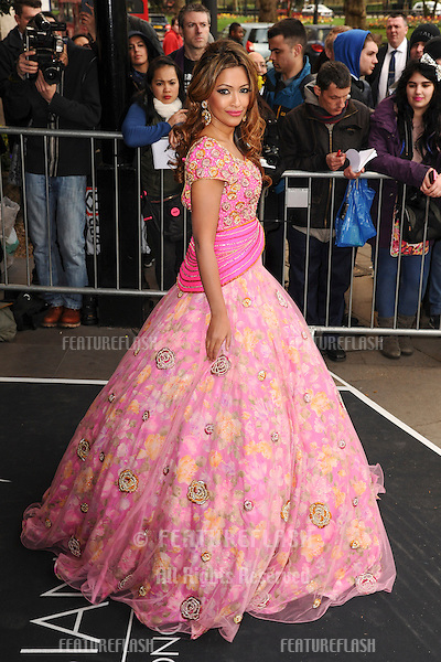 Tasmin Lucia Khan arrives for The Asian Awards 2014 at the Grosvenor House Hotel, London. 04/04/2014 Picture by: Steve Vas / Featureflash