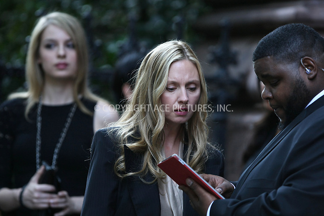 WWW.ACEPIXS.COM ************....June 15 2011, New York City....Hope Davis on the set of the pilot episode of HBO's 'Spring Fall' tv show in the East Village on June 15 2011 in New York City....Please byline: PHILIP VAUGHAN - ACEPIXS.COM.. *** ***  ..Ace Pictures, Inc:  ..tel: (646) 769 0430..e-mail: info@acepixs.com..web: http://www.acepixs.com