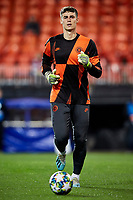 27th November 2019; Mestalla, Valencia, Spain; UEFA Champions League Footballl,Valencia versus Chelsea; Goalkeeper Kepa Arrizabalaga of Chelsea warms up prior to the game - Editorial Use