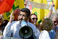 Roma, 27 Giugno 2017<br /> Riccardo Fraccaro<br /> Manifestazione al Pantheon contro il CETA, Comprehensive Economic and Trade Agreement, tra Europa e Canada