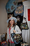 """Jacklyn Zeman """"Bobbie Spencer"""" - General Hospital wearing a Jane Elissa hat and shows of Jane's items as they raise money for Leukemia and Cancer Research. (Photo by Sue Coflin/Max Photos)"""