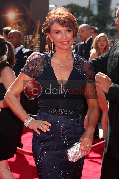 Roma Downey<br /> at the Primetime Creative Arts Emmy Awards  2013 Arrivals, Nokia Theater, Los Angeles, CA, 09-15-13<br /> David Edwards/DailyCeleb.Com 818-249-4998