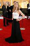 LOS ANGELES, CA. - January 25: Actress Kyra Sedgwick arrives at the 15th Annual Screen Actors Guild Awards held at the Shrine Auditorium on January 25, 2009 in Los Angeles, California.