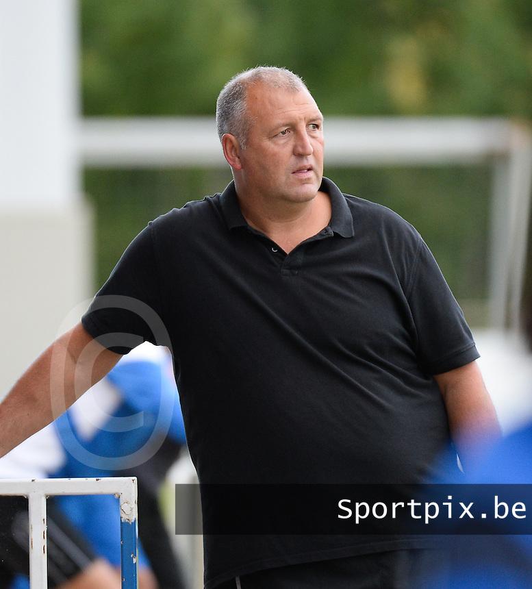 KSV Rumbeke : coach Nigel Smith <br /> Foto VDB / Bart Vandenbroucke