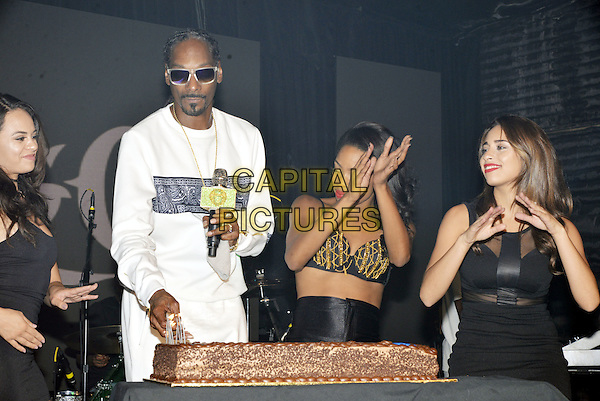 HOLLYWOOD,CA - OCTOBER 15: Snoop Dogg's Birthday Party at SIR Studios in Hollywood, CA on October 15, 2016. <br /> CAP/MPI/KSR<br /> &copy;MPIKSR/Capital Pictures