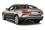 Car pictures of rear three quarter view of 2018 Jaguar XE 4dr-Sdn-20d-R-Sport-RWD 4 Door Sedan Angular Rear