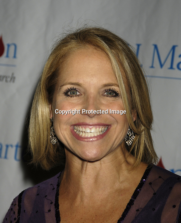 Katie Couric ..at The 30th Anniversary of the  TJ Martell Foundation Gala on October 6, 2005 at The Marriott Marquis Hotel. ..Photo by Robin Platzer, Twin Images