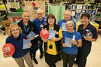 Nottingham Breathe Easy Group were raising awareness at Asda West Bridgford. Pictured from left are Barbara Preston, Eizabeth Marsden, Malcolm Ginever, Asda Community Champion Christine Conway, Tom Wedgewood, Patricia Smith and Specialist Respiratory Nurse Alison Sutherland