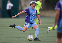 Seattle, WA - Saturday July 23, 2016: Maddy Evans during a regular season National Women's Soccer League (NWSL) match between the Seattle Reign FC and the Orlando Pride at Memorial Stadium.