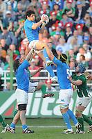 Masi (Italia)<br /> Italia vs Irlanda<br /> Six Nations Rugby<br /> Stadio Flaminio, Roma, 05/02/2011<br /> Photo Antonietta Baldassarre Insidefoto